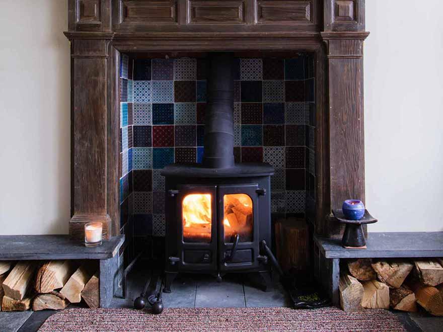 Royal Cottage Fireplace